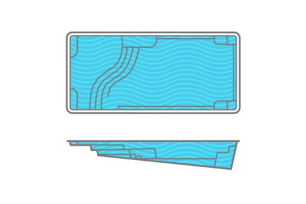 SwimUSA Fiberglass - Aspen - 14' x 30' 5'6'' $61,120.00