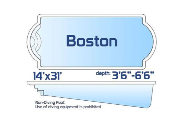 SwimUSA Fiberglass - Classic - Boston $44,875.00