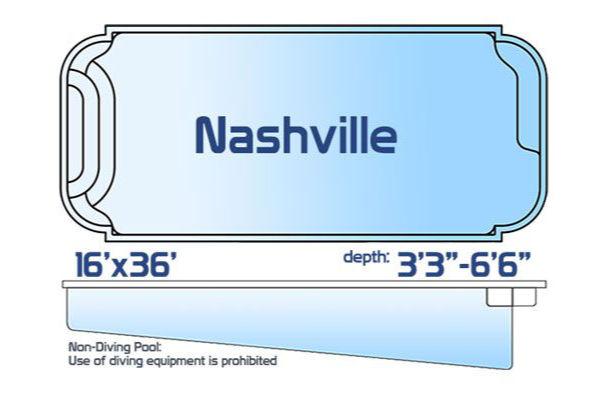 SwimUSA Fiberglass - Classic - Nashville $51,825.00