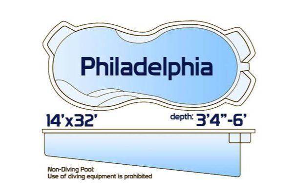 SwimUSA Fiberglass - Freeform - Philadelphia $43,425.00