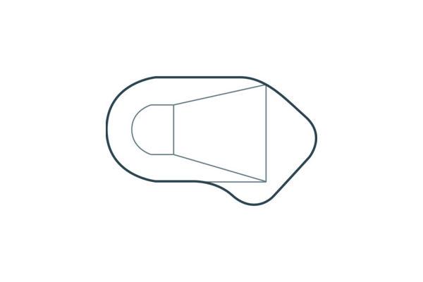 Vinyl Liner Pools - Oval-L