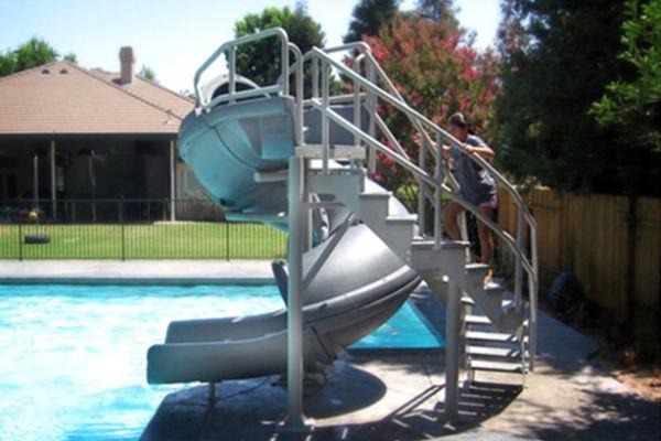 Vortex Pool Slide W/Staircase