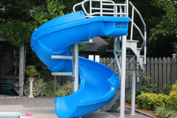 Vortex Pool Slide W/Ladder